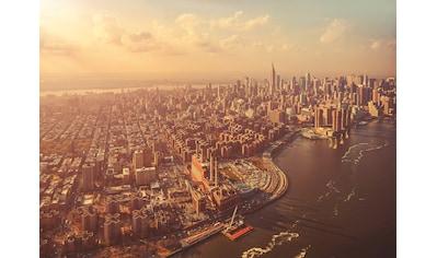 Komar Fototapete »Manhattan«, bedruckt-Stadt-Kunst, ausgezeichnet lichtbeständig kaufen