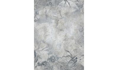 Komar Fototapete »Flower Fossil«, Steinoptik-schimmernd-Gold-Optik kaufen