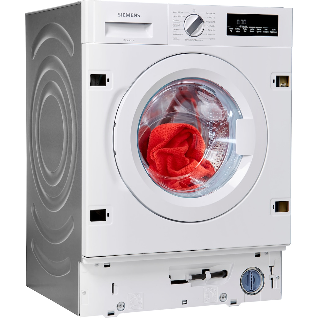 SIEMENS Einbauwaschmaschine »WI14W442«, iQ700, WI14W442