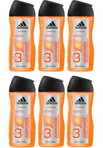 adidas Performance Duschgel »adipower 3in1«, (Spar-Set, 6 tlg.), für Männer kaufen