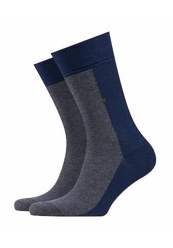 Burlington Socken »Black Joker«, (1 Paar), mit angenehmer Baumwolle kaufen