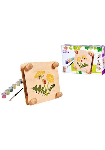 Eichhorn Kreativset »EH Outdoor, Blätterpresse«, (Set), zum Zusammenbauen und Bemalen; Made in Europe kaufen
