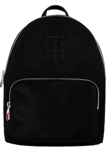 Tommy Hilfiger Cityrucksack »POPPY BACKPACK TH«, mit TH Logo Aufnäher kaufen
