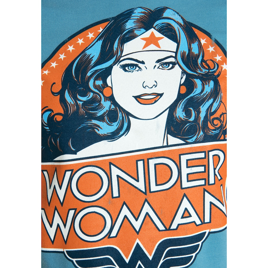 LOGOSHIRT T-Shirt »Wonder Woman Portrait«, mit lizenziertem Originaldesign