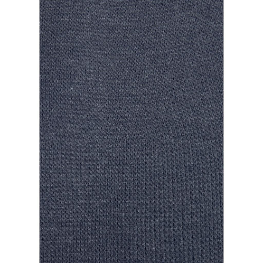 s.Oliver Bodywear Kapuzensweatjacke, mit Kontrastnähten