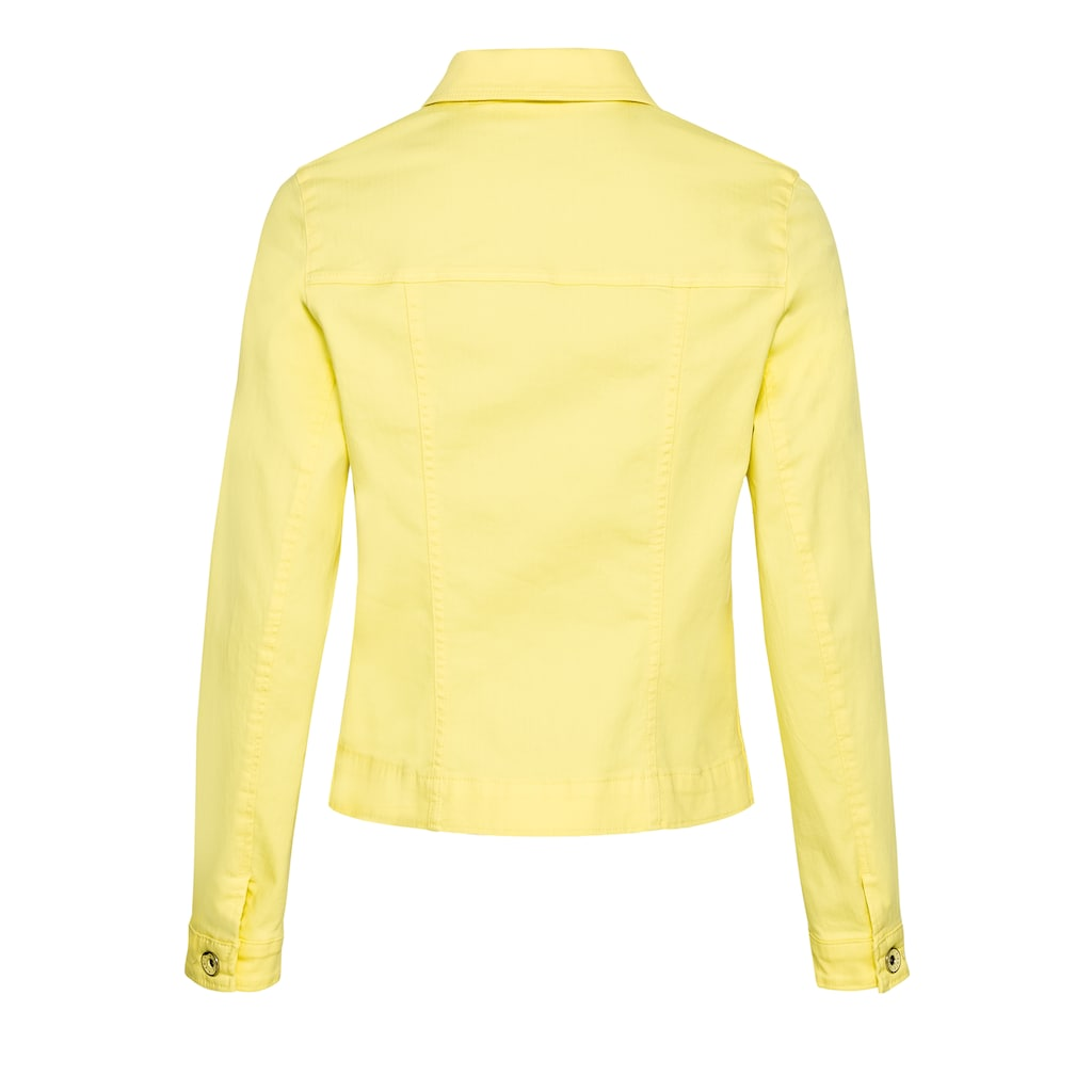 bianca Jeansjacke »JUNE«, in strahlender, sommerlicher Trendfarbe