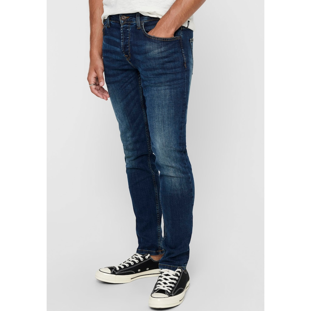 ONLY & SONS Regular-fit-Jeans »WEFT«