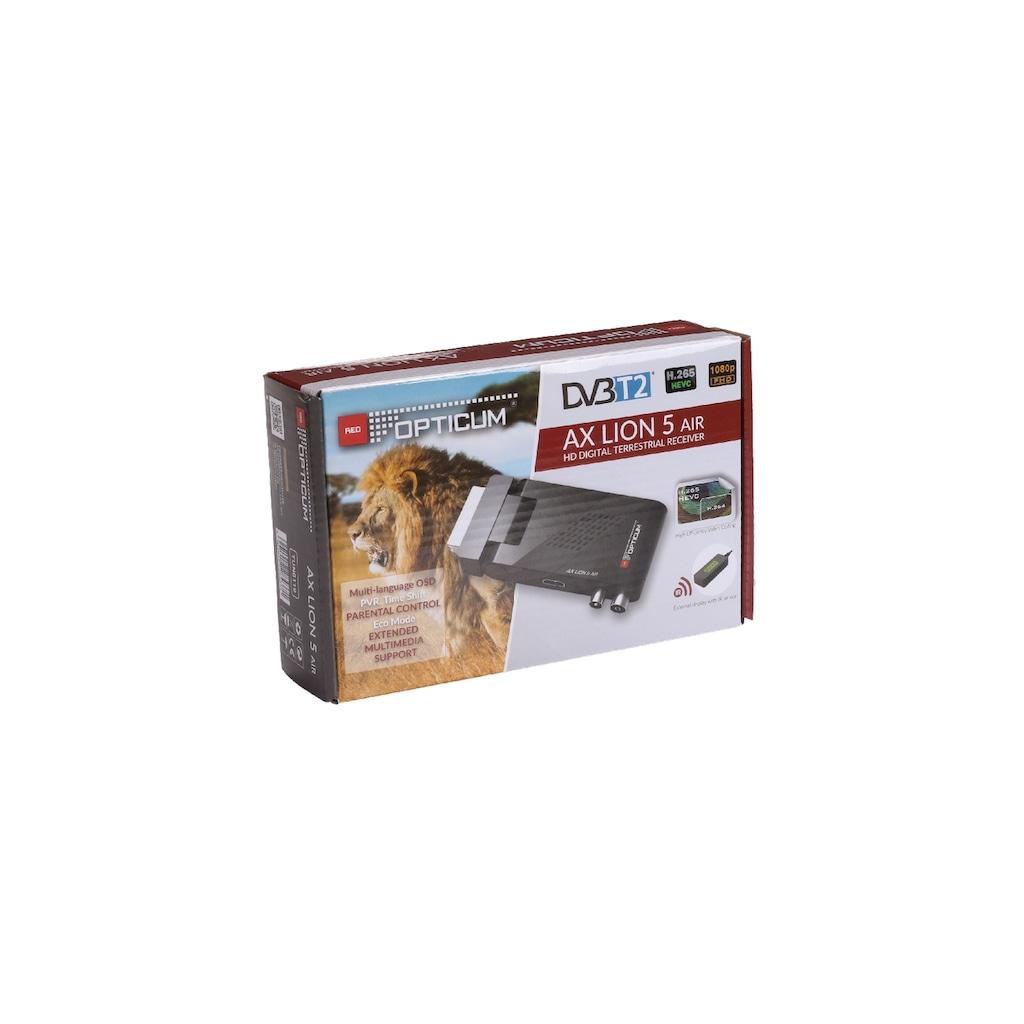 Opticum Red DVB-T2 Receiver »Lion Air 5«