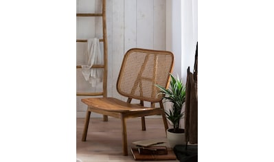 SIT Rattanstuhl, mit Wiener Geflecht, moderner Lounge chair für alle Räume geeignet kaufen