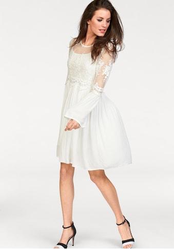 Aniston CASUAL Spitzenkleid, (Set, 2 tlg.), im Romantik-Look kaufen