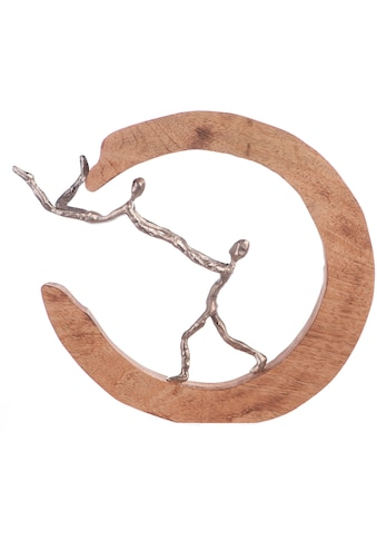 GILDE Dekofigur »Skulptur Parents Love, silberfarben/natur«, Dekoobjekt, Höhe 32,... kaufen