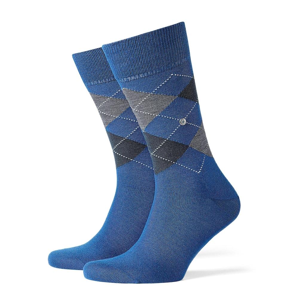 Burlington Socken, aus feiner Schurwolle