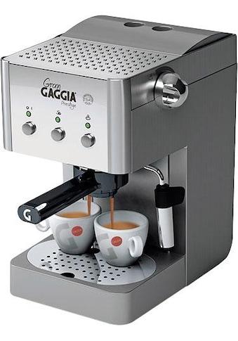 Gaggia Siebträgermaschine »Gran Gaggia Prestige« kaufen