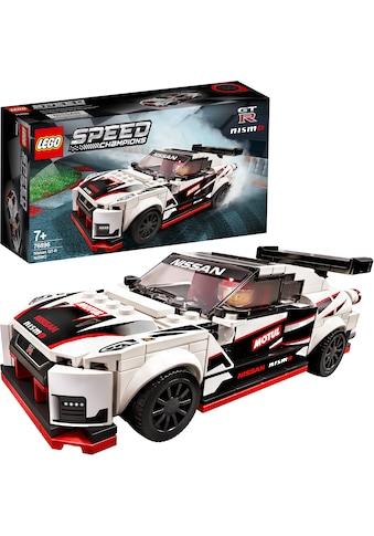 LEGO® Konstruktionsspielsteine »Nissan GT-R NISMO (76896), LEGO® Speed Champions«, (298 St.), Made in Europe kaufen
