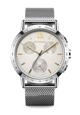 DETOMASO Chronograph »ADESSO QUARZUHR LIMITED EDITION WHITE« kaufen