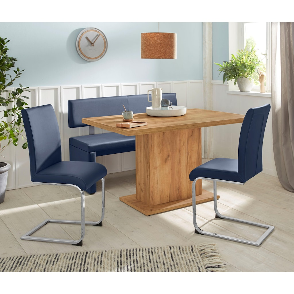Sitzbank »Charissa«, Breite 140 cm mit Bezug in Kunstleder
