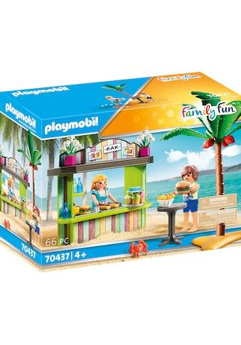 Playmobil® Konstruktions-Spielset »Strandkiosk (70437), Family Fun«, (66 St.), Made in... kaufen