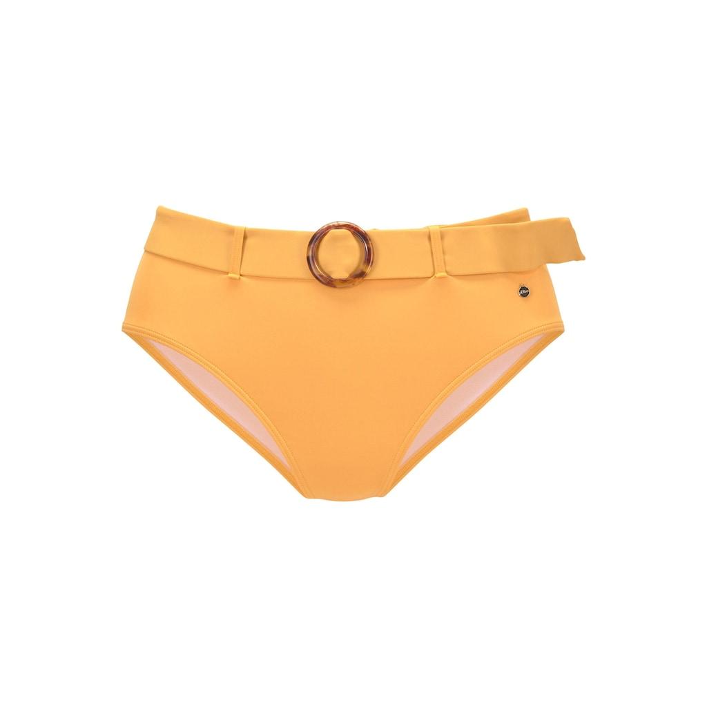 s.Oliver Beachwear Highwaist-Bikini-Hose »Rome«, mit abnehmbarem Gürtel