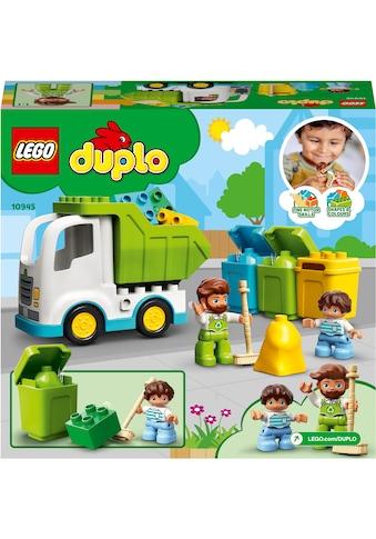 LEGO® Konstruktionsspielsteine »Müllabfuhr und Wertstoffhof (10945), LEGO® DUPLO®... kaufen