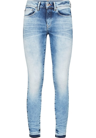 G-Star RAW Skinny-fit-Jeans »3301 Mid Skinny Ripped Edge Ankle Jeans«, mit leicht... kaufen