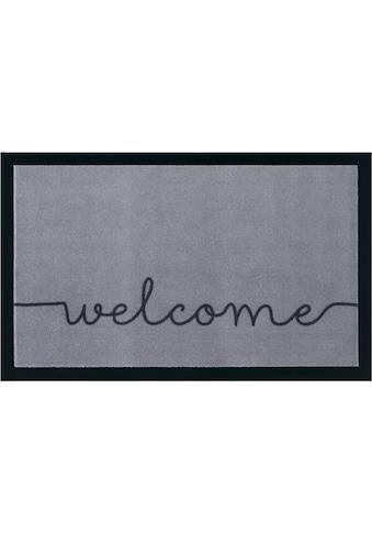 HANSE Home Fußmatte »Cozy Welcome«, rechteckig, 5 mm Höhe, Schmutzfangmatte, mit... kaufen
