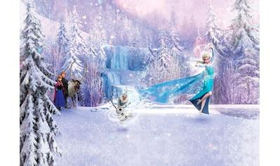 Komar Fototapete »Frozen Forest«, bedruckt-Comic, ausgezeichnet lichtbeständig kaufen
