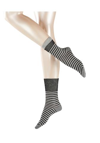 Esprit Socken »Fold Stripe«, (1 Paar), aus Baumwolle kaufen