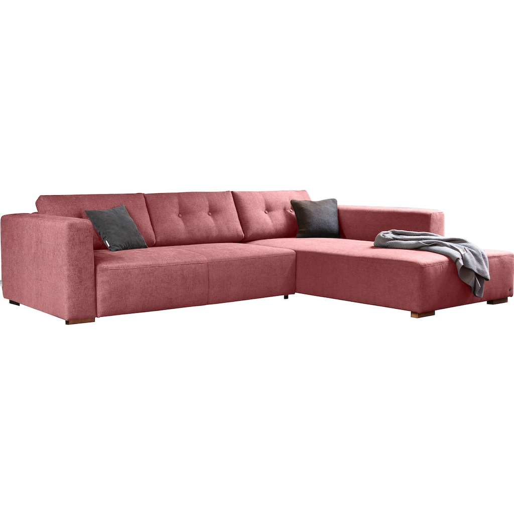 TOM TAILOR Ecksofa »HEAVEN CHIC M«, aus der COLORS COLLECTION, wahlweise mit Bettfunktion & Bettkasten