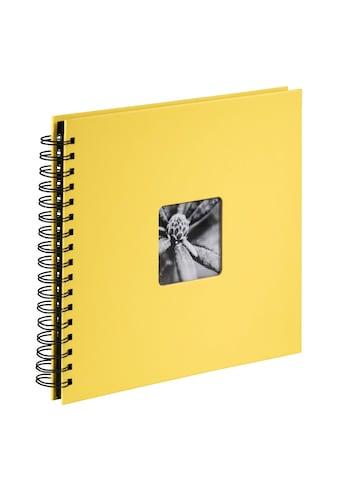 """Hama Fotoalbum »Foto-Album«, """"Fine Art"""", 28X24 cm, 50 schwarze Seiten kaufen"""