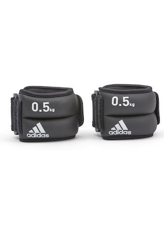 adidas Performance Gewichtsmanschette »Gewischtsmanschetten für Fuß -  und Handgelenke«, 1 kg kaufen