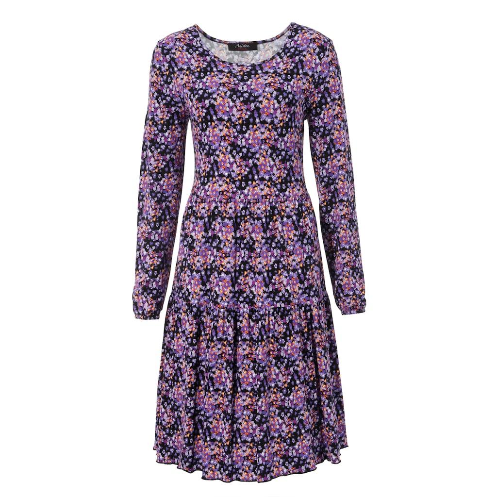 Aniston CASUAL Jerseykleid, mit Volant - NEUE KOLLEKTION