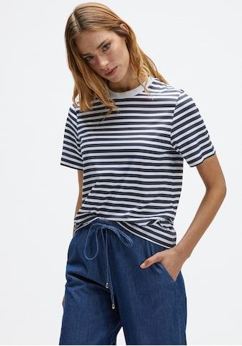 "North Sails T-Shirt, mit Satement-Badge ""Save the Sea"" in Brusthöhe kaufen"