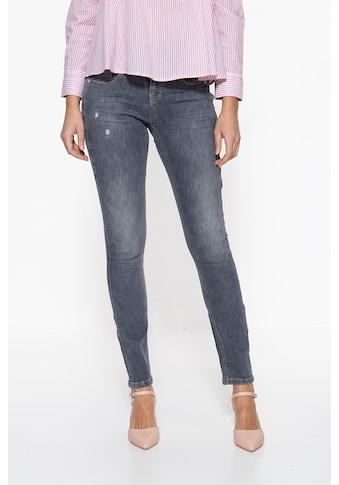 ATT Jeans Slim-fit-Jeans »Zoe«, mit kontrastierenden Absteppungen kaufen