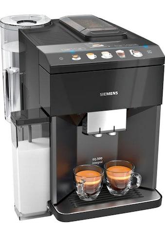 SIEMENS Kaffeevollautomat »EQ.5 500 integral TQ505D09«, einfache Bedienung,... kaufen