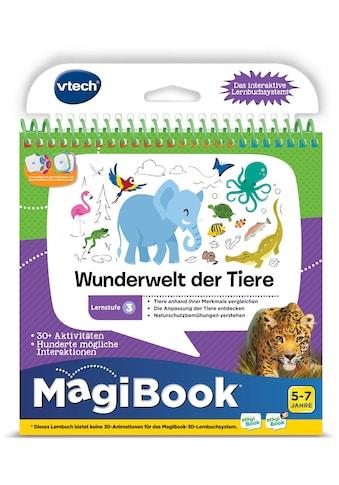 """Vtech® Buch """"MagiBook Lernstufe 3  -  Wunderwelt Tier"""" kaufen"""