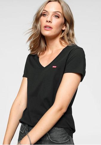 Levi's® V-Shirt »Perfect Tee«, mit kleinem Batwing- Logo kaufen