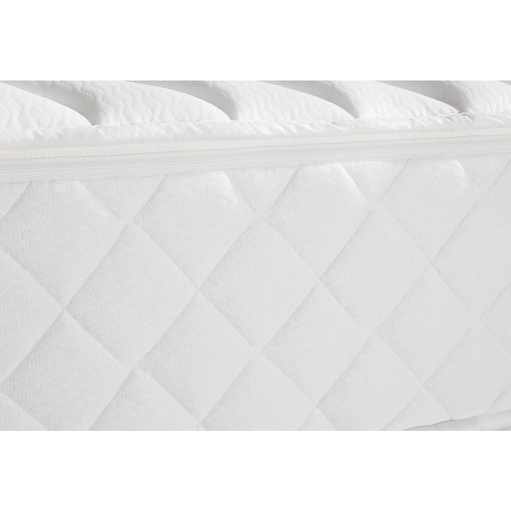 """Schlaf-Gut Komfortschaummatratze »Prestige 23 S - Komfort«, (1 St.), optimale Anpassungsfähigkeit durch versteppten """"Soft-Touch-Schaum"""" im Bezug"""