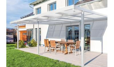 GUTTA Terrassendach »Premium«, BxT: 611x406 cm, Dach Acryl Klima blue kaufen