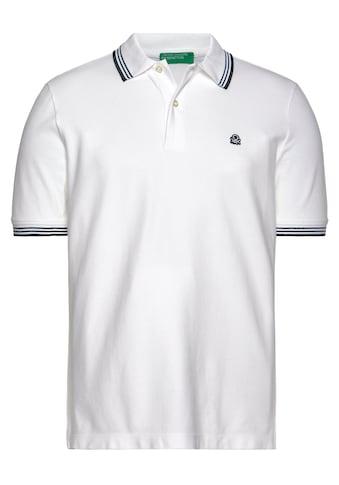 United Colors of Benetton Poloshirt, mit Farbakzenten kaufen