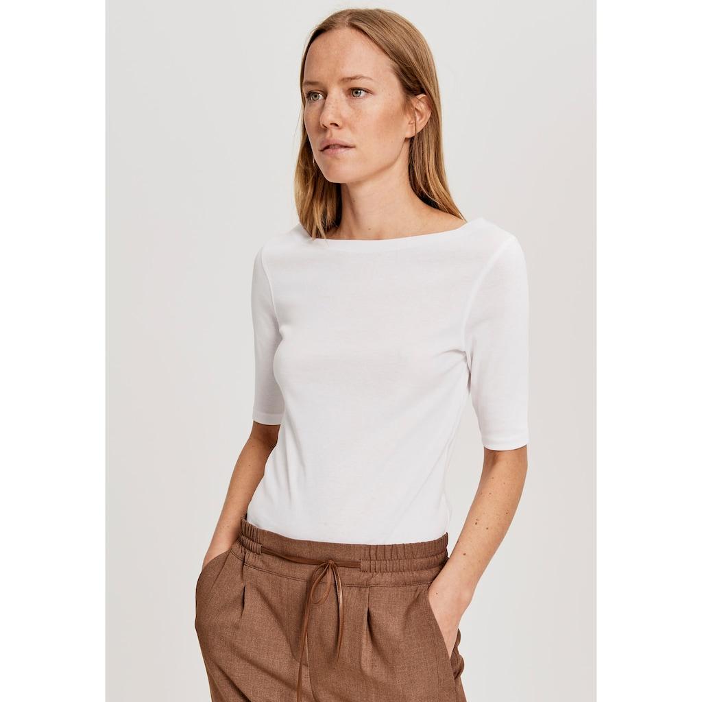 OPUS T-Shirt »Daily G«, im Basic-Look