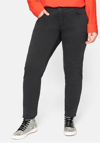 Sheego 5-Pocket-Hose, mit Nieten und Destroyed-Effekten kaufen