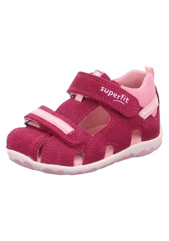 Superfit Sandale »Fanni WMS Weiten-Messsystem: mittel«, mit Klettverschluss kaufen