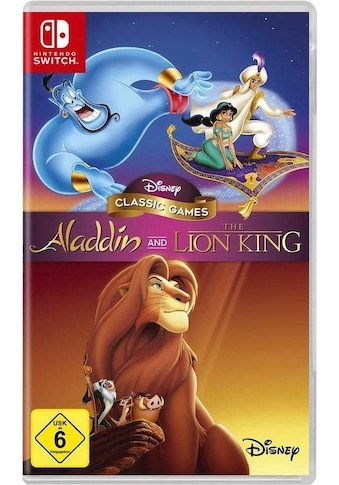 Disney Spiel »Aladdin and The Lion King«, Nintendo Switch kaufen