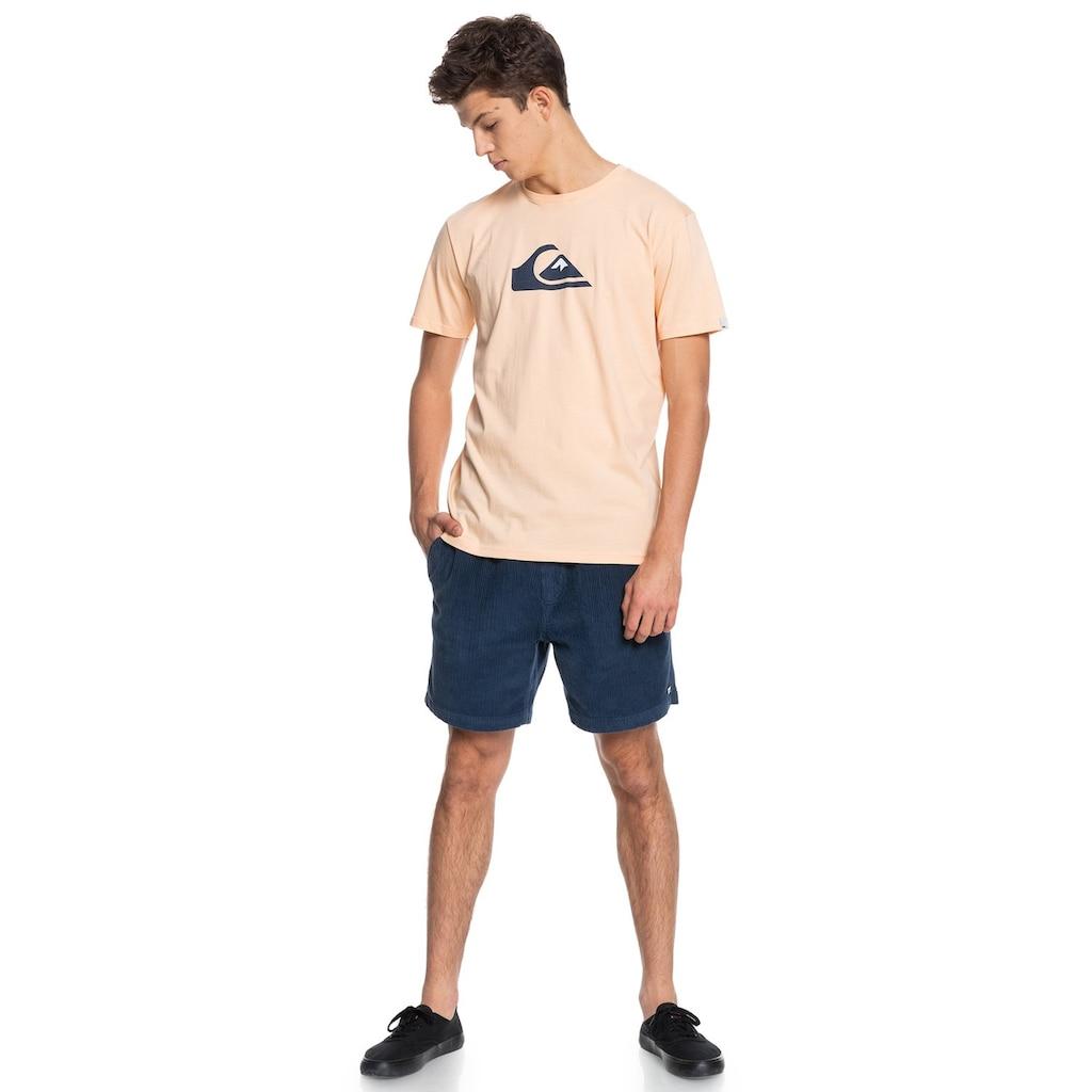 Quiksilver T-Shirt »Comp Logo«