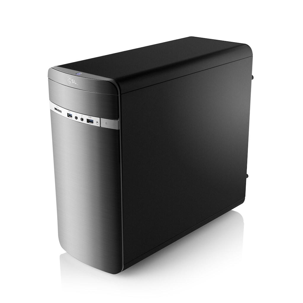 CSL Gaming PC | Core i5-9400F | GeForce GTX 1650 | 16 GB DDR4 | SSD »Speed T5711 Windows 10«