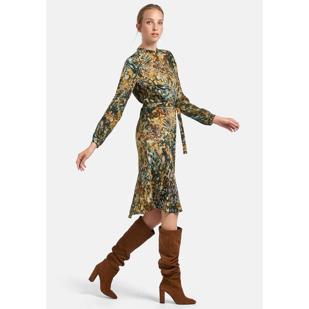 Uta Raasch Abendkleid »Kleid mit Stehkragen«, und Gürtel