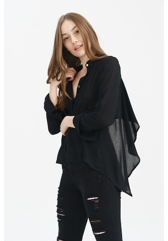 trueprodigy Langarmbluse »Donna«, mit Rückenaussschnitt und Bändern kaufen