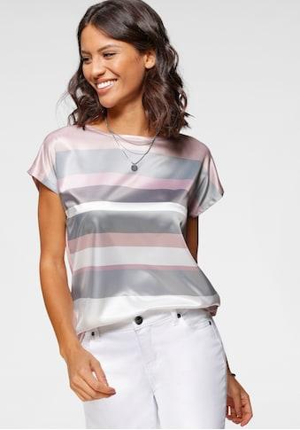 Laura Scott Blusenshirt, mit verschiedenen Frontdrucken kaufen