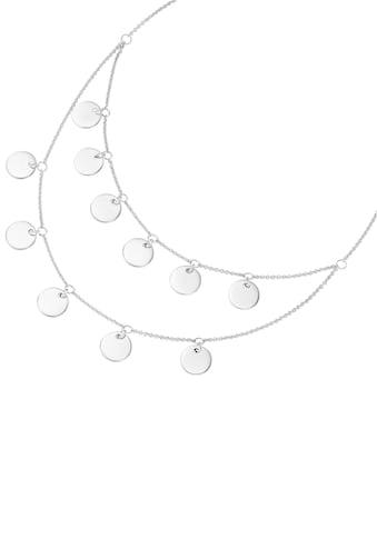 Firetti Collier »Kreise, rhodiniert, teilweise mehrreihig« kaufen
