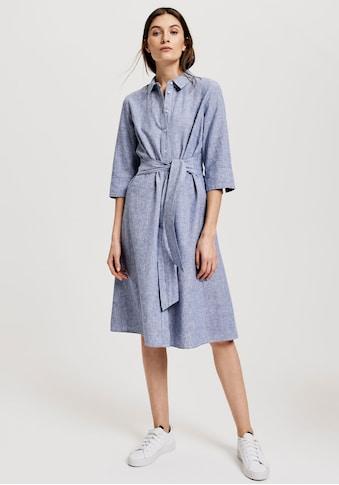 OPUS Blusenkleid »Wuta«, (2 tlg.), mit Nadelstreifen kaufen